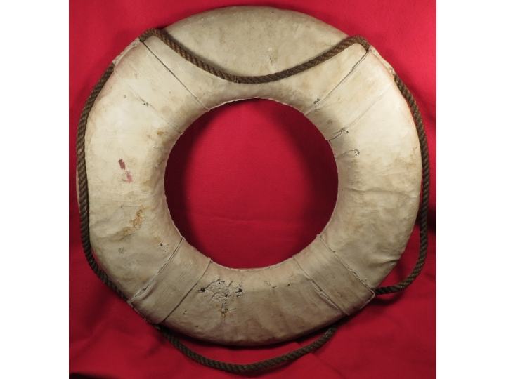 "Life Ring from the ""S. S. ROBERT"""