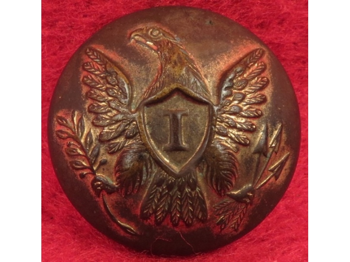US Infantry Coat Button