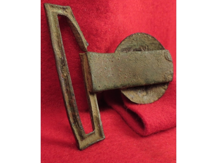1846 US Militia Officer's Tongue Belt Plate