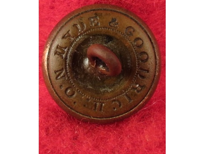 Mississippi Infantry Cuff Button