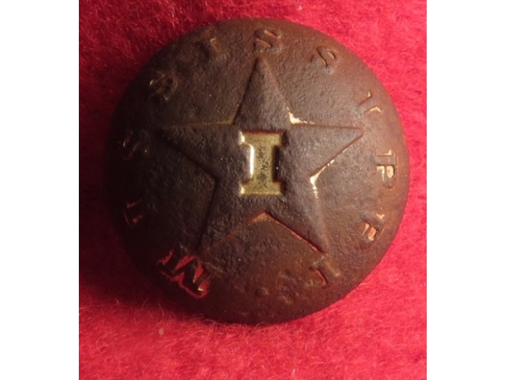 Mississippi Infantry Coat Button