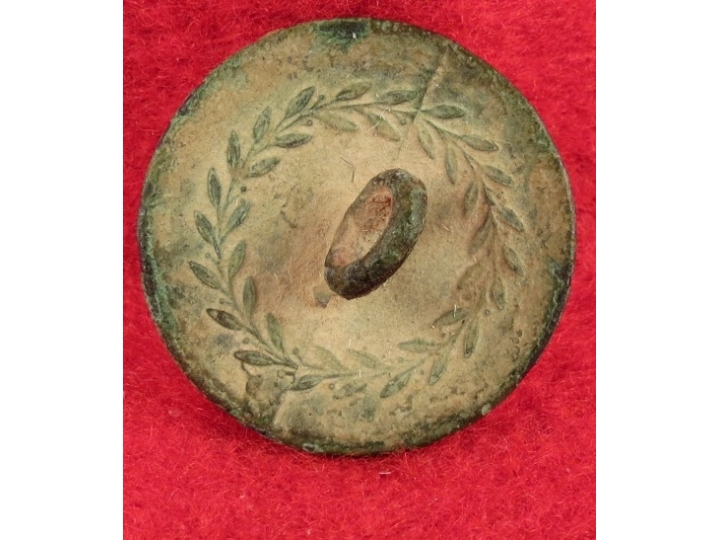 New York Early Militia Coat Button