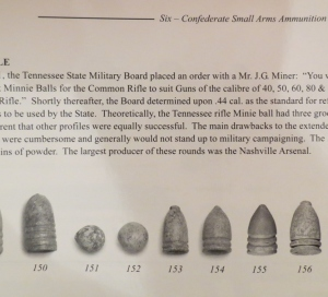 Tennessee Rifle Bullet