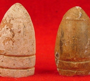Four Various Prussian Bullets