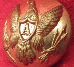 US Artillery Coat Button