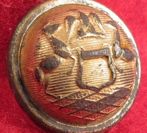Michigan State Seal Cuff Button