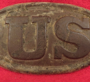 US Cartridge Box Plate - Baby Size