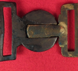 British Rifle Corps Two-Piece Belt Plate