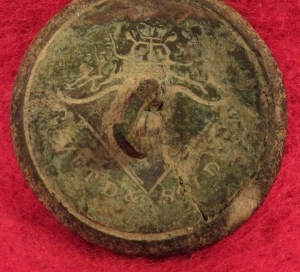 Confederate Army Officer Button