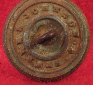 Connecticut State Seal Coat Button