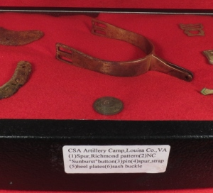 Confederate Relic Display - Louisa County, VA