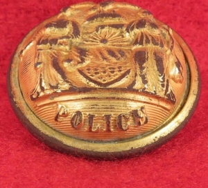 New York Police Button