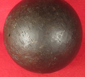 Confederate 12 Pounder Solid Shot Cannonball